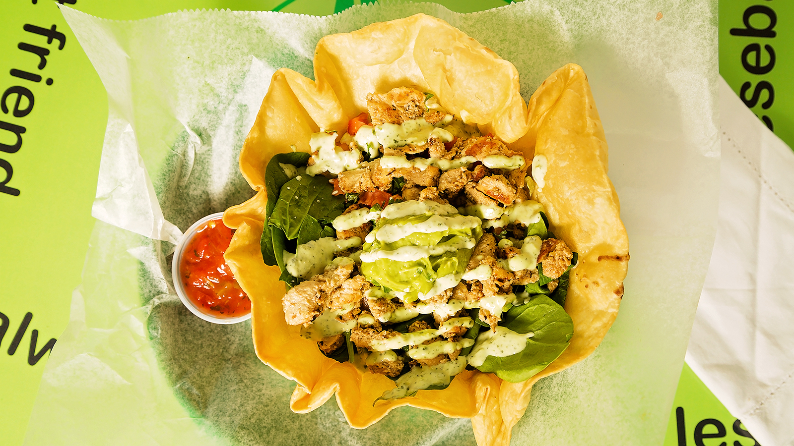 MONDAY - Chicken Salad Bowl $6.50