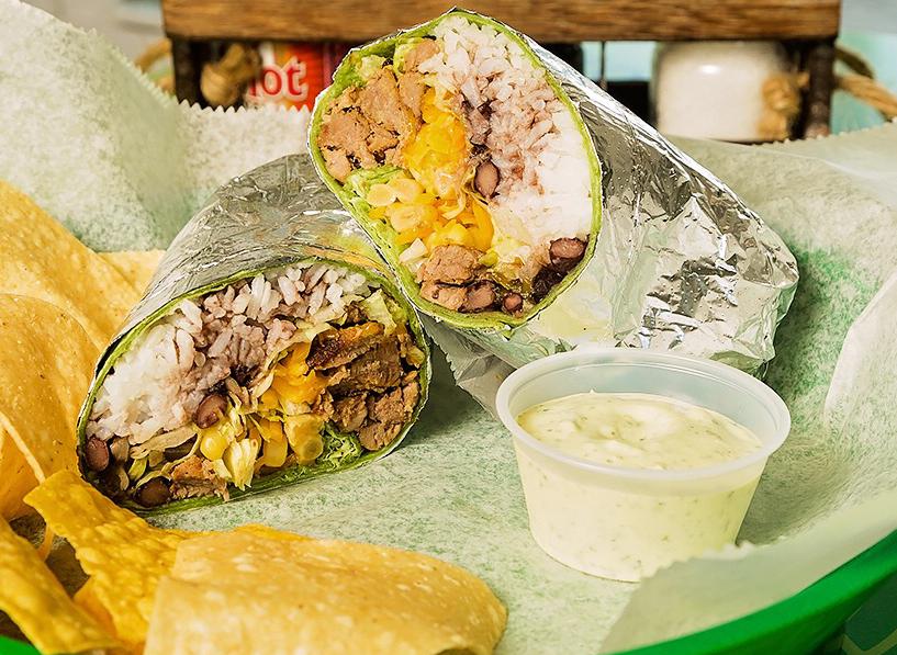 SATURDAY - Pork Wrap $6.99