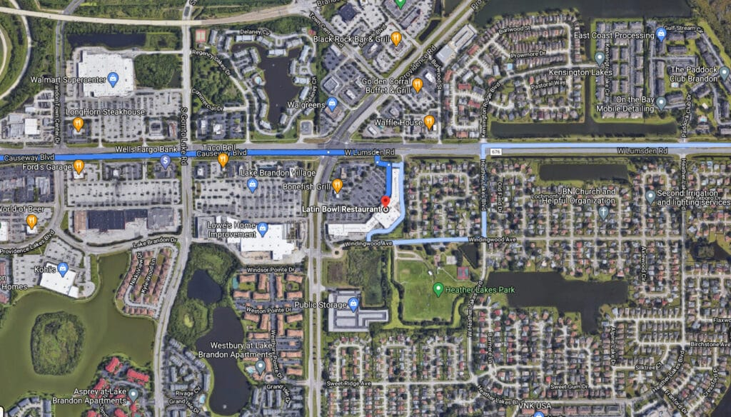 Map Brandon Location